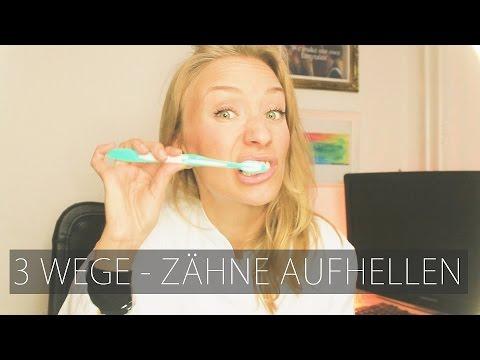3 Wege für weiße Zähne