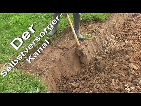 Beet im Garten neu anlegen