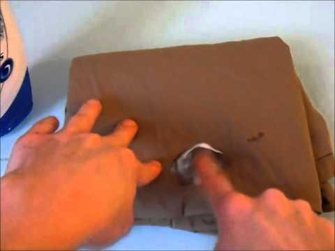 Blutflecke aus Kleidung entfernen