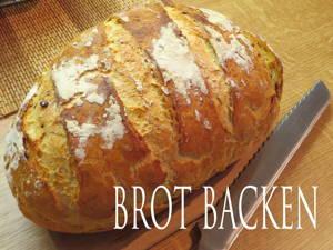Brot mit knuspriger Kruste selbst backen