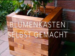 DIY Blumenkasten aus Holz