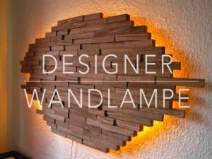 DIY – Wandlampe aus Holz