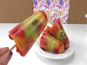 Fruchteis mit nur 3 Zutaten