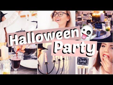 Halloween Party zu Hause