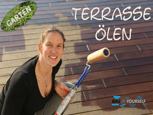 Holzpflege für die Terrasse