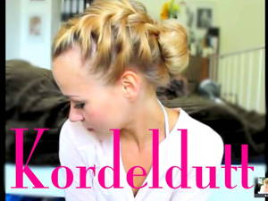 Kordelfrisur – super easy