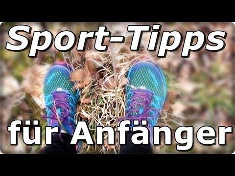 Motivationstipps für Sportanfänger (Laufen)