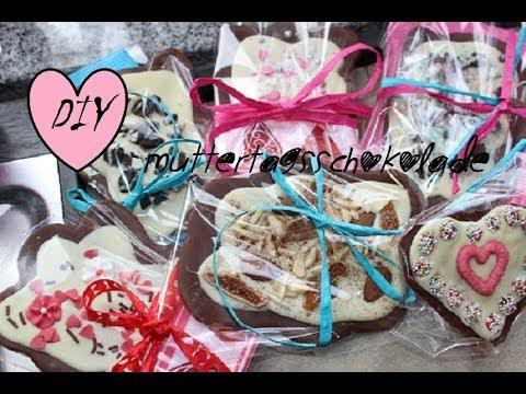 Muttertag DIY mit Schokolade