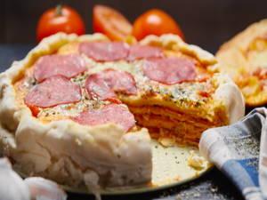 Pizzakuchen – herzhaft und lecker