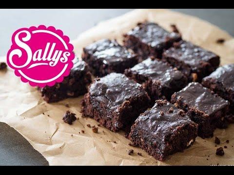 Saftige schokoladen Brownies