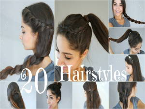 Schnelle 5-Minuten-Frisuren