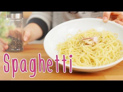 Spaghetti richtig kochen (al dente)