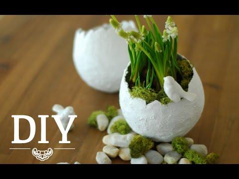 Vasen für Ostern selbst basteln