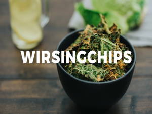 Wirsingchips – die gesunde Alternative