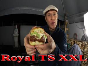 XXL Hamburger Royal TS vom eigenen Grill