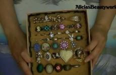 Aufbewahrungsbox für Ringe