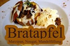 Bratapfel aus dem eigenen Ofen