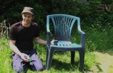 Kunststoff Gartenmöbel auffrischen
