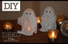 Halloween-Geister basteln