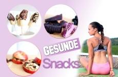 Gesunde Snacks schnell gemacht