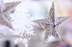 Sterne für Weihnachten basteln