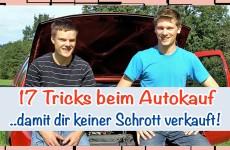 17 Tipps für den Autokauf (Gebrauchtwagen)