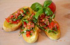 Bruschetta – schnell gemacht und lecker