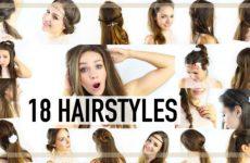 18 Mega einfache Frisuren