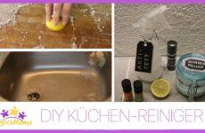 Reiniger für die Küche selbst gemacht